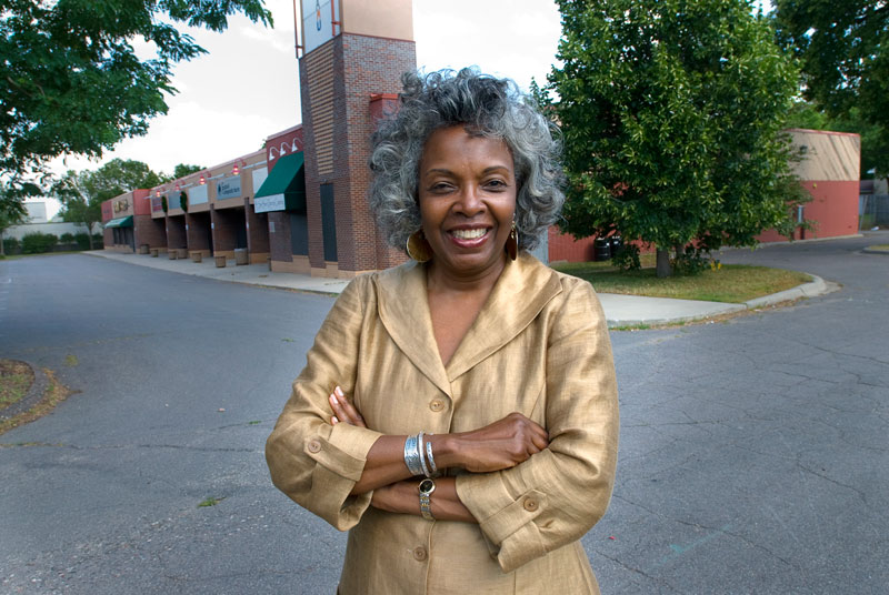 Dr. Irma McClaurin, Associate VP & founding Executive Director of the University of Minnesota's Urban Research and Outreach-Engagement Center (UROCO) before renovations 2009
